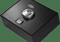 Barska top opening fingerprint safe
